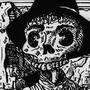 Skullcowboy by dogmuth-behedog