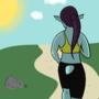 Saffron Jog by CreamyMisfit