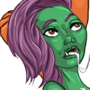 Ork Girl Has Fun by Sysica