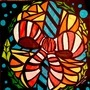 Tissue Paper Stain Glass by BeKoe