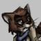 Raccoon Orphaned Bandit