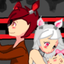 Foxy and Mangle (VERY OLD Art) by IsabelAnimates