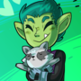 Beast Boy and Raccoon by ZeTrystan
