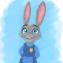 Officer Hopps by AstraRR