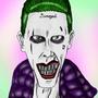 Jared Leto Joker 2.0 by Tedecamp