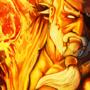 Flaming Fist by Rhunyc