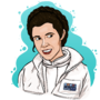 Carrie Fisher by TheIYouMe