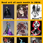 Best of 2016 by Coolkitten13