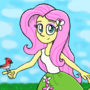 Equestria Girls - Fluttershy by AeroRanger100