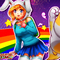 adventure time fionna and cake(with drawing video)