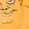 Giant Orange Guy's Training; Fan Art