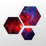 Minimalistic Space Wallpaper by TrueNedax