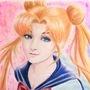 Sailor moon by amandadarko