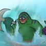 Tidehunter Dota 2 by GrilledCheese042