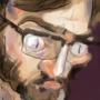 Self portrait again by jlorp