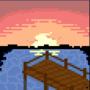 Sundown Lake by HypSandar