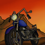 Sunset Ride by VincyG96