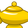Gold Magic Lamp by Makatoons