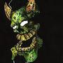 Green demon by dogmuth-behedog