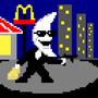 Pixel Moonman by AI-ChuckNorris