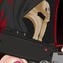 Reaper Genderbender Pinup by XavierStarr
