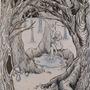 Elven Forrest by Bianca-doodles