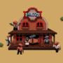Pixel Western by clampunk
