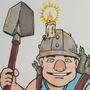 The Legendary Miner by MrFyasko