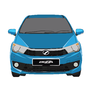 Perodua Bezza - Ocean Blue by Tarenlee