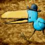 Pedestrian bird