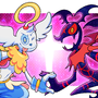 Zazariel and Geno by Smashega