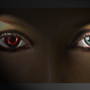 The eyes by Scorpiastudios