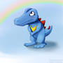 Totodile by Xander24