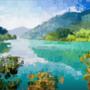 Calm Lake by AnnasArt