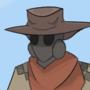 Gasmask Cowboy II by Rebellium