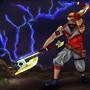 Steampunk Viking - Legendary Axe by romuloman