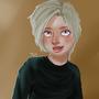 new self portrait (semi realistic) by Taitanator