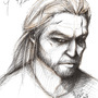 Geralt of Rivia by shambalambastudio