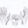 Shading of hands