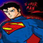 Super man that I drew a long time ago.. I was suppose to animate him fighting Goku