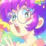 Retro Anime Self-Portrait