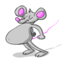 Thrust Dancing Mouse Animated Gif by critterfitz