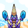 Crabrawler on a beach