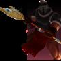 Warrior In Combat by AntonTse