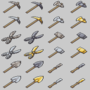Craft/Game Tool Icons by BizmasterStudios