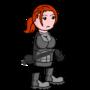 Girl soldier 01 by VladimirLyuty