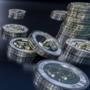 3D Bitcoin Wallpaper by Lusin