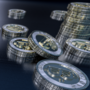 3D Bitcoin Wallpaper by Lusin