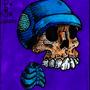 Mini skeleton by dogmuth-behedog