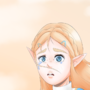 Zelda from Breath of the wild by Narfwin